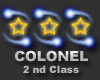 Colonel 2 nd class